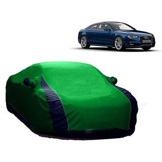 AutoBurn Car Cover For Audi A7 (Designer Green  Blue )