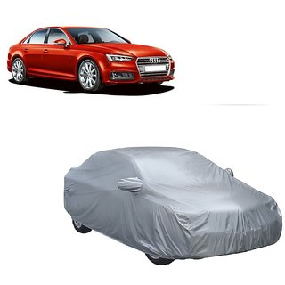 InTrend All Weather  Car Cover For Maruti Suzuki A-Star (Silver With Mirror )