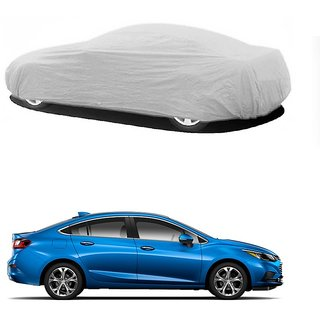 SpeedGlorY All Weather  Car Cover For Maruti Suzuki Celario (Silver Without Mirror )