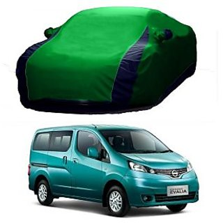 Speediza Water Resistant  Car Cover For Hyundai Elite I20 (Designer Green  Blue )