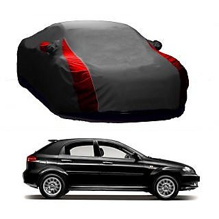 Speediza All Weather  Car Cover For Audi Q7 (Designer Grey  Red )