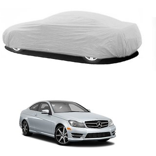 AutoBurn UV Resistant Car Cover For Mercedes Benz Benz S 350 (Silver Without Mirror )