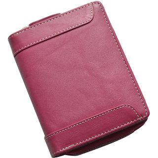 Knott Trendy Pink Leather Wallet for Women