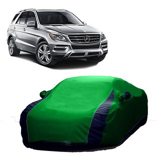 MotRoX Water Resistant  Car Cover For Skoda Octavia (Designer Green  Blue )