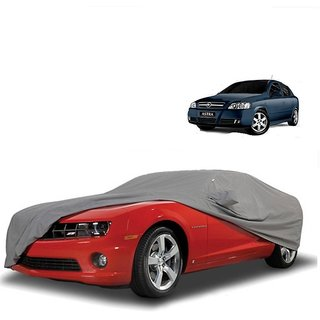 Speediza All Weather  Car Cover For Maruti Suzuki Alto-800 (Grey With Mirror )