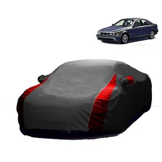InTrend UV Resistant Car Cover For BMW 1 Series (Designer Grey  Red )