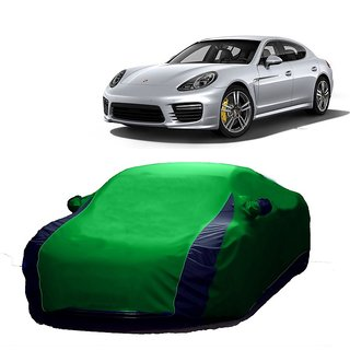SpeedGlorY All Weather  Car Cover For Skoda Rapid (Designer Green  Blue )