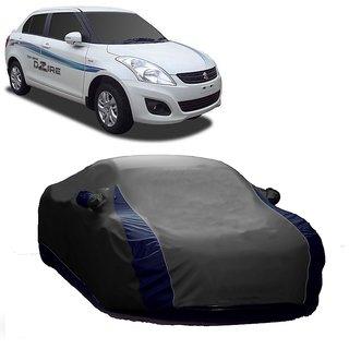 AutoBurn All Weather  Car Cover For Maruti Suzuki Zen Estilo Type 1 (Designer Grey  Blue )