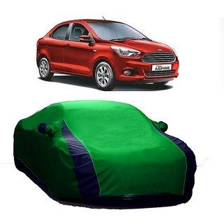 DrivingAID Car Cover For Mahindra Armada (Designer Green  Blue )