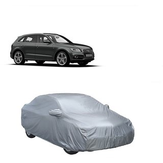 MotRoX Water Resistant  Car Cover For Chevrolet Sail UVA (Silver With Mirror )