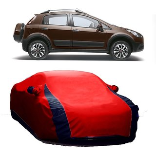 RideZ All Weather  Car Cover For Toyota Avalon (Designer Red  Blue )