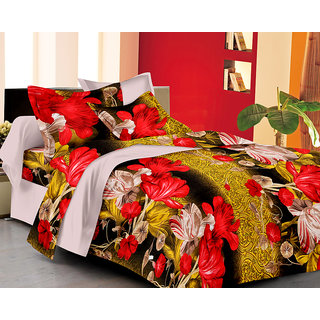 100% PREMIUM COTTON SATIN BED SHEET SET