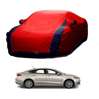 Bull Rider All Weather  Car Cover For Hyundai Getz (Designer Red  Blue )
