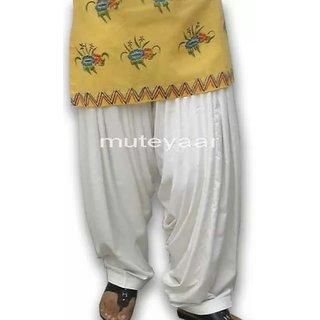 Traditional punjabi full PATIALA SALWAR Ready to wear