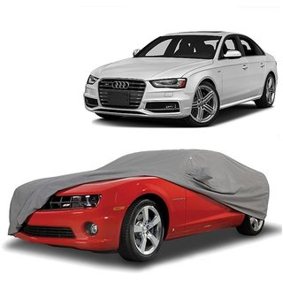 Bull Rider All Weather  Car Cover For Maruti Suzuki Stingray (Grey With Mirror )