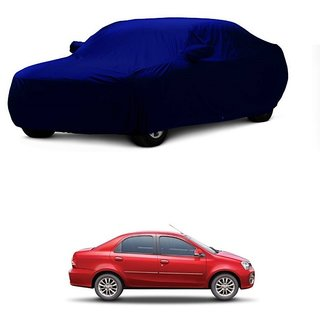 Bull Rider All Weather  Car Cover For Maruti Suzuki Swift Dzire Old (Blue With Mirror )