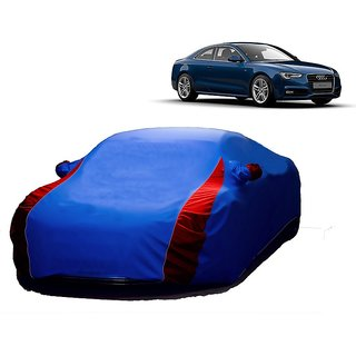 InTrend UV Resistant Car Cover For Mercedes Benz A-Class (Designer Blue  Red )