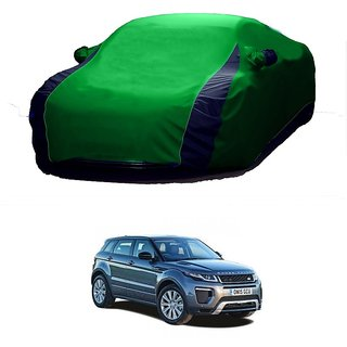Speediza Water Resistant  Car Cover For Ford Endeavour (Designer Green  Blue )