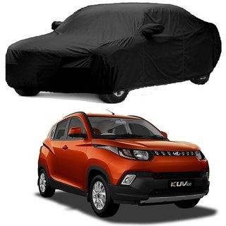 RoadPluS All Weather  Car Cover For Maruti Suzuki Zen Estilo (Black With Mirror )