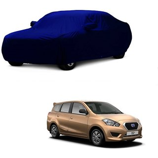 AutoBurn UV Resistant Car Cover For Chevrolet Sail UVA (Blue With Mirror )