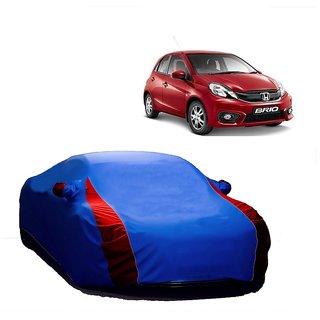 Speediza All Weather  Car Cover For Maruti Suzuki Baleno (Designer Blue  Red )