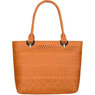 Fostelo Women's Ariana Shoulder Bag Tan (FSB-752)