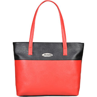Fostelo Women's Susanne Shoulder Bag Red (FSB-777)