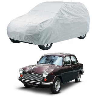 Speediza UV Resistant Car Cover For Maruti Suzuki Alto K10 (Silver Without Mirror )