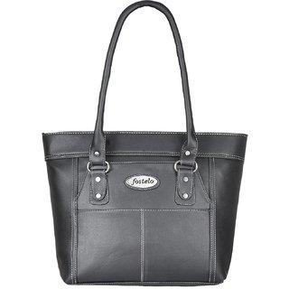 8de2ad128844 Fostelo Women s Janelle Shoulder Bag Black (FSB-823)