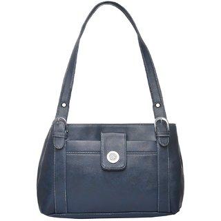 Fostelo Women's Emily Shoulder Bag Blue (FSB-887)