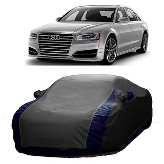 Speediza Water Resistant  Car Cover For Audi A4 (Designer Grey  Blue )