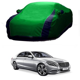 DrivingAID Car Cover For Opel Corsa (Designer Green  Blue )