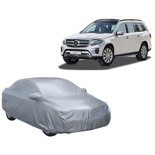 AutoBurn UV Resistant Car Cover For Nissan Go (Silver With Mirror )