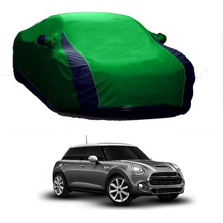 AutoBurn Car Cover For Mercedes Benz Cdi (Designer Green  Blue )