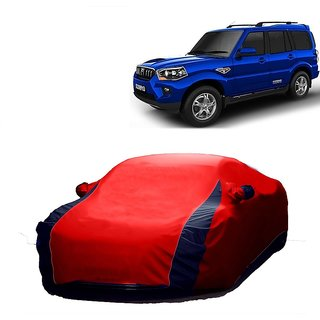InTrend UV Resistant Car Cover For Maruti Suzuki Swift Old (Designer Red  Blue )