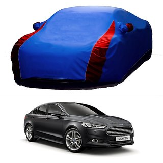 InTrend All Weather  Car Cover For Fiat Panda (Designer Blue  Red )