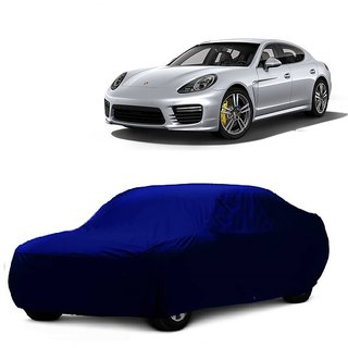 Speediza All Weather  Car Cover For Skoda Rapid (Blue Without Mirror )