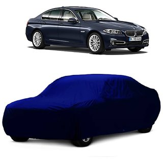 InTrend All Weather  Car Cover For Chevrolet Aveo Uva (Blue Without Mirror )