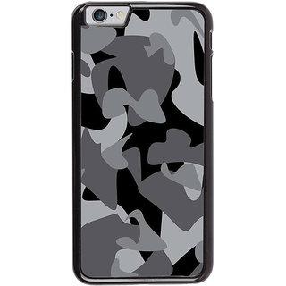 promo code bee20 16e79 Buy Fuson Designer Back Cover For Apple Iphone 6 Plus (Military ...