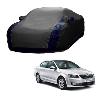 AutoBurn All Weather  Car Cover For Audi R8 (Designer Grey  Blue )