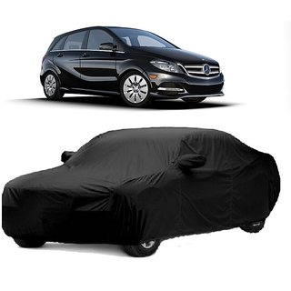 Bull Rider Water Resistant  Car Cover For Mercedes Benz B Class (Black With Mirror )