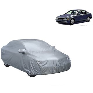 MotRoX Water Resistant  Car Cover For BMW 7 Series (Silver With Mirror )