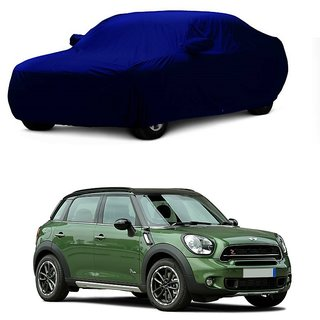 SpeedRo Water Resistant  Car Cover For Maruti Suzuki WagonR Stingray (Blue With Mirror )