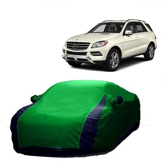 InTrend All Weather  Car Cover For Mahindra Maximo Plus (Designer Green  Blue )
