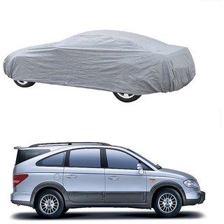 MotRoX Water Resistant  Car Cover For Tata Sonata Fluidic (Silver Without Mirror )