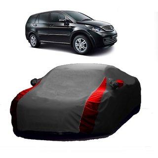 InTrend All Weather  Car Cover For Maruti Suzuki Alto K10 (Designer Grey  Red )