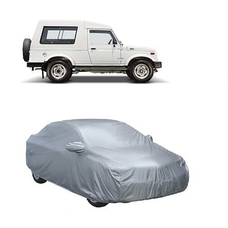 Bull Rider Water Resistant  Car Cover For BMW I8 (Silver With Mirror )