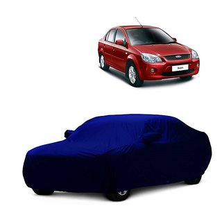 InTrend All Weather  Car Cover For Maruti Suzuki Ritz (Blue With Mirror )