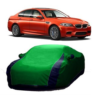InTrend All Weather  Car Cover For Tata Manza (Designer Green  Blue )