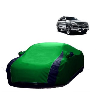 InTrend All Weather  Car Cover For Nissan Micra (Designer Green  Blue )